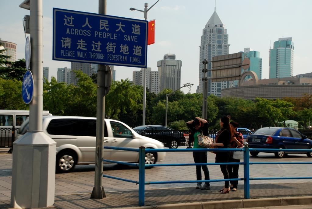 Sichere Strassen in Shanghai