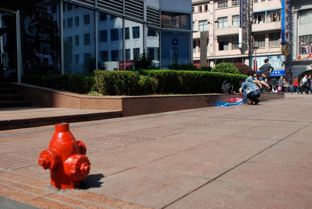 Unsichere Wege in Shanghai